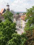 Blick ins Zentrum von Neustadt (Orla)